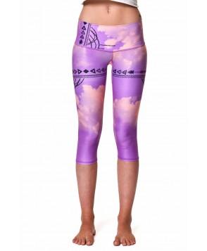 Teeki Purple Haze Goddess Capri