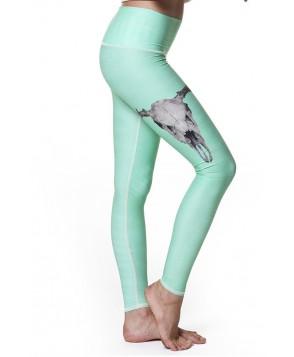 Teeki Deer Medicine Hot Pant - Turquoise