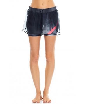 Wear it to Heart Mesh Butterfly Shorts