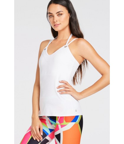 Fabletics Tanks Crystal Top Womens White