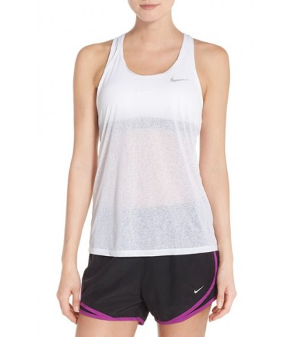 Nike 'Cool Breeze' Racerback Dri-FIT Tank,  - White