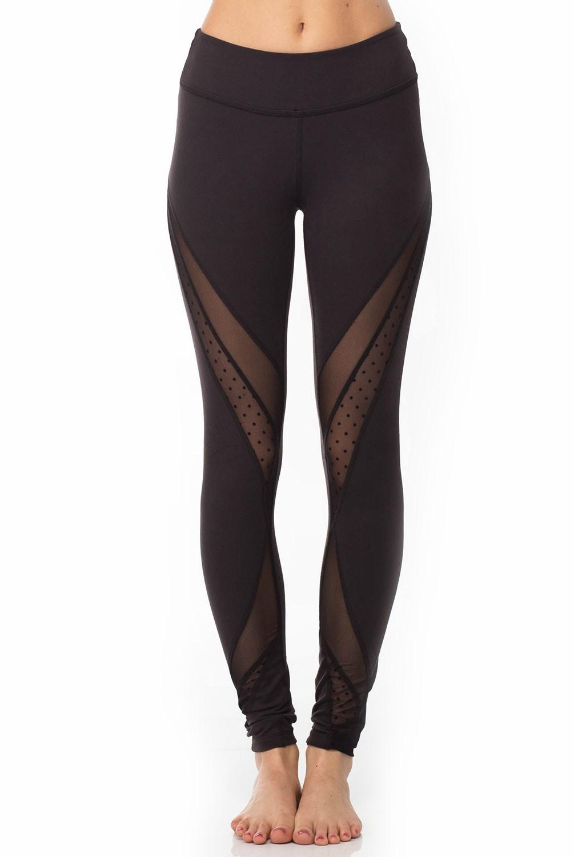 6f7186b6f8678 Beyond Yoga Polka Dot Mesh Converged Long Legging