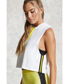 Forever 21 Active Sleeveless Hoodie