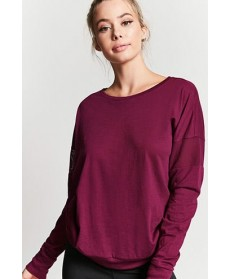 Forever 21 Active Dolman-Sleeve Top