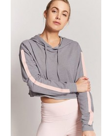 Forever 21 Active Contrast Stripe Top