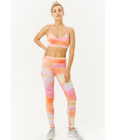 Forever 21  Watercolor Wash Leggings