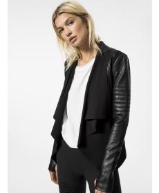 Carbon38 Drape Front Jacket