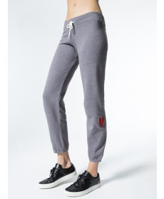 Carbon38 Vintage Sweats w/ Embroidered Heart