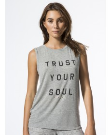Carbon38 Trust Your Soul Chakra Tank