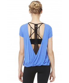 Alo Yoga Row Short Sleeve Top