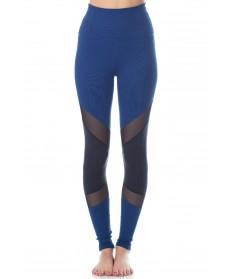 Beyond Yoga Art Deco Paneled High Waist Long Legging