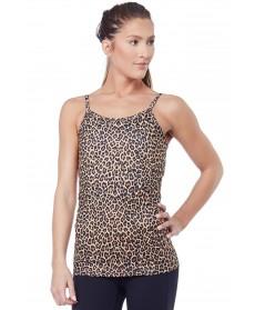 KiraGrace Leopard Flirt Yoga Cami