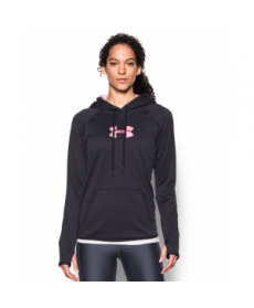Under Armour Women's  Logo Caliber Hoodie