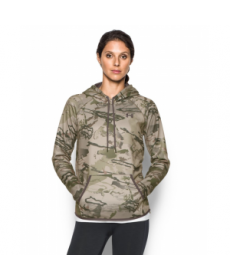 Under Armour Women's  Logo Camo Hoodie