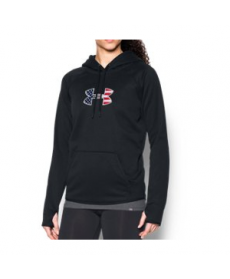 Under Armour Women's  Big Flag Logo Hoodie