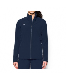 Under Armour Women's  Sqd Woven Full Zip Jacket
