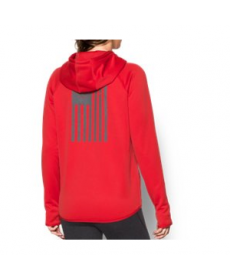 Under Armour Women's  Rival Freedom Flag Hoodie