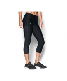 Under Armour Women's  Fly-By Mesh Inset Capris