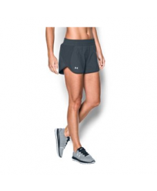 Under Armour Women's  Launch Tulip Reflective Printed Shorts