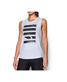 Under Armour Women's  Midnight Run Muscle Tank