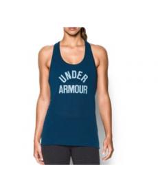 Under Armour Women's  Threadborne Train Wordmark Tank