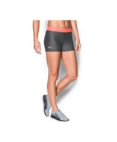 "Under Armour Women's  HeatGear Armour 3"" - Shine waistband Shorts"