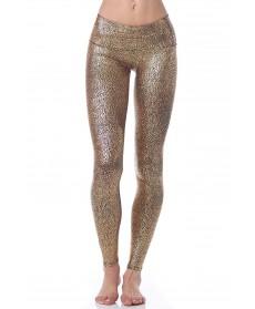 Purusha People Gold Goddess Legging