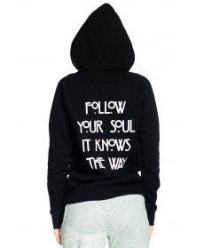 Spiritual Gangster Follow Your Soul Zip Hoodie