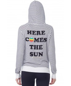 Spiritual Gangster Here Comes The Sun Zip Hoodie
