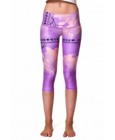 Teeki Purple Haze Goddess Capri