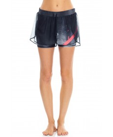 Wear it to Heart Mesh Butterfly Shorts