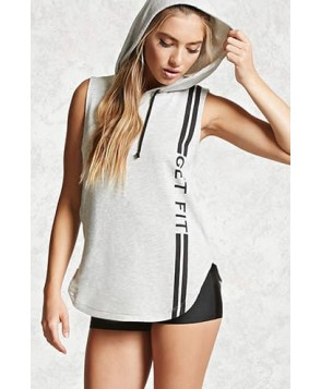 Forever 21 Active Get Fit Hoodie
