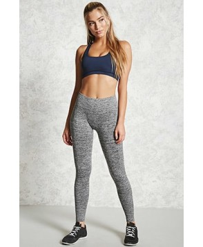 Forever 21 Active Marled Leggings