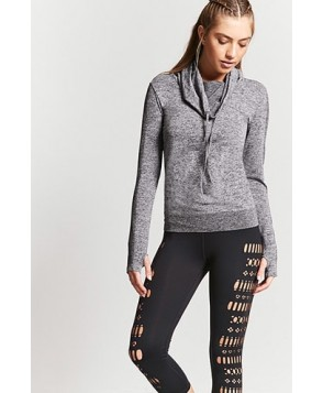 Forever 21  Active Geo Cutout Capri Leggings