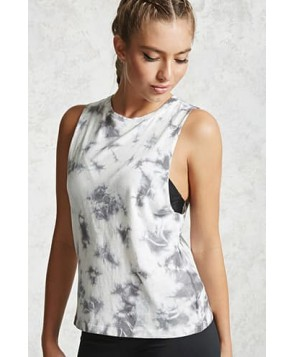 Forever 21 Active Tie-Dye Tank Top