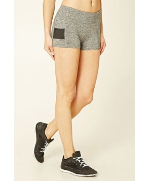 Forever 21 Active Mesh Pocket Shorts