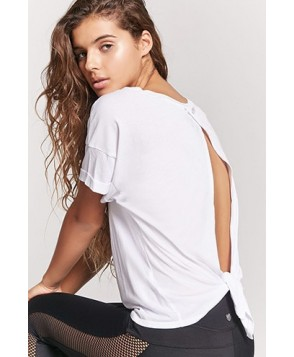Forever 21  Active Tie-Back Tee