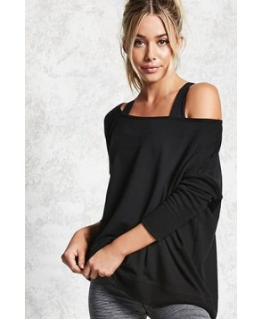 Forever 21 Active Oversized Top