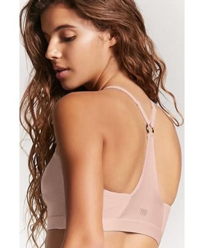 Forever 21  Medium Impact - High Neck Sports Bra