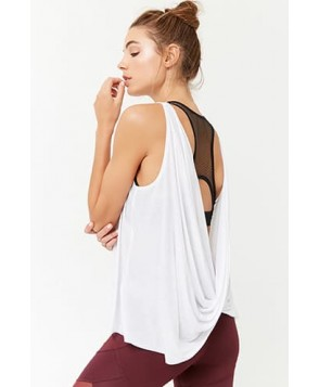 Forever 21 Active Draped-Back Tank Top