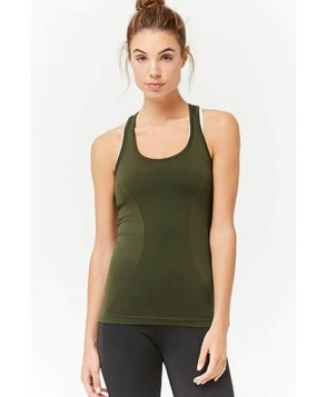 Forever 21 Active Seamless Racerback Tank Top