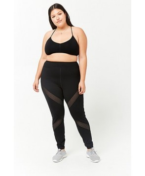 Forever 21  Plus Size Active Moto Leggings