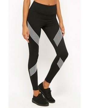 Forever 21  Active Striped Leggings