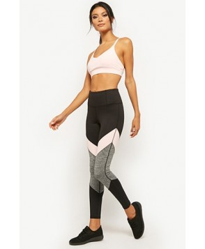 Forever 21  Active Colorblock Panel Leggings