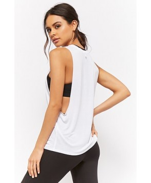 Forever 21  Active Raw-Cut Muscle Tee