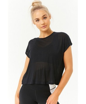 Forever 21  Active Semi-Sheer Tee