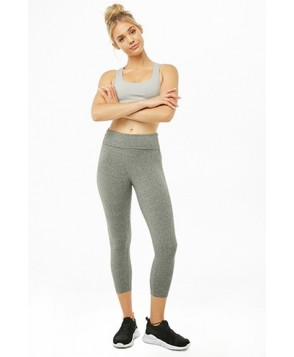 Forever 21  Active Cropped Foldover Leggings