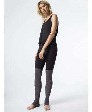 Carbon38 Goddess Ribbed Legging
