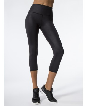 Carbon38 High-Waist Airbrush Capri