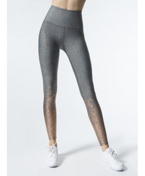 Carbon38 Alloy Ombre High Waisted Midi Legging